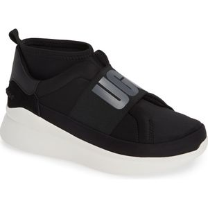 UGG Neutra Sock Sneakers Black New 8
